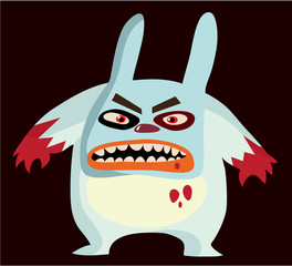 Recess Fitting Sweet Monsters killer bunny