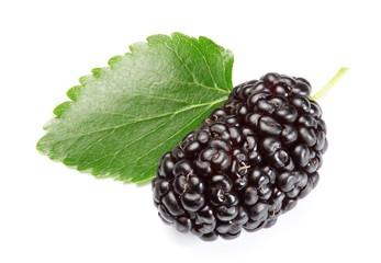 Ripe mulberry.