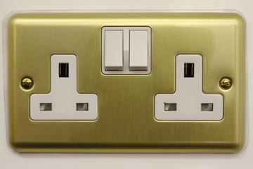 Mains plug socket