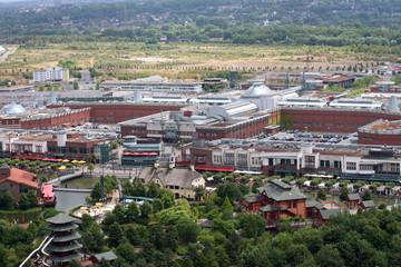 Blick auf das CentrO in Oberhausen