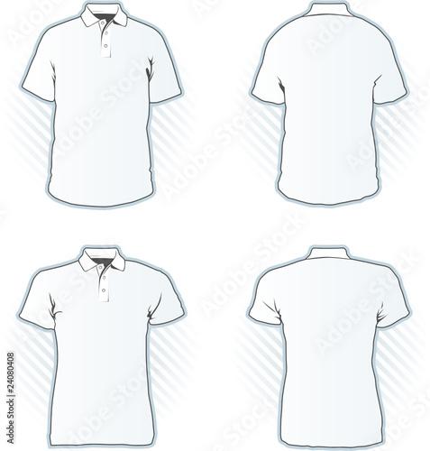 Polo Shirt Design Template Set Stock Image And Royalty