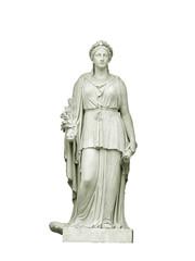 Estatua aislada alegorica de la paz