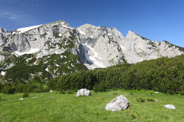 Maglic, the hihgest mountain of Bosnia and Herzegovina