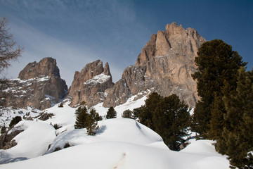 Trentino, montagne