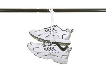 Sneakers Hanged