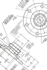 Engineering detail drawing