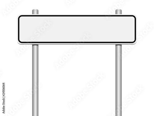 panneau de localisation blanc photo libre de droits sur la banque d 39 images image. Black Bedroom Furniture Sets. Home Design Ideas