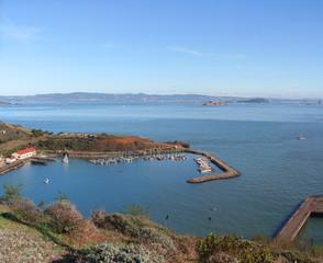 Horseshoe bay near Golden Gate in San Francisco