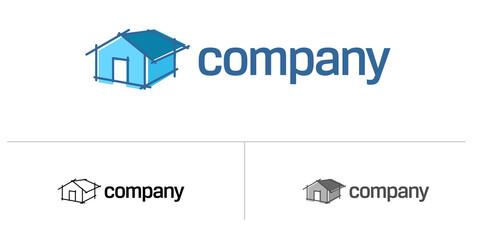 House logo for renovation company
