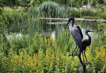 Japanese garden in Leverkusen, Germany