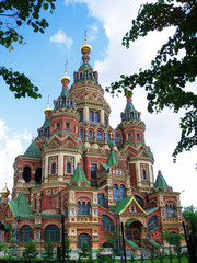 Cathedral of St. Peter and Pavel, Petergoph, Russia