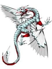 Metal Dragon Tattoo