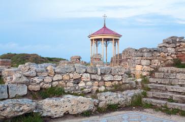 Evening Chersonesos (ancient town)
