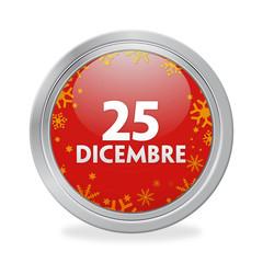 Bottone 25 Dicembre