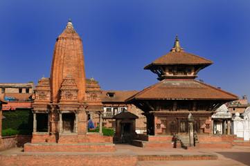 Bhaktapur's Durbar Square, Nepal.
