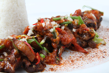 oxtail food asian