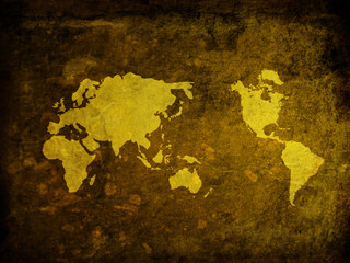 world map vintage artwork - perfect background