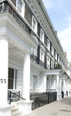 Stucco Housing in London