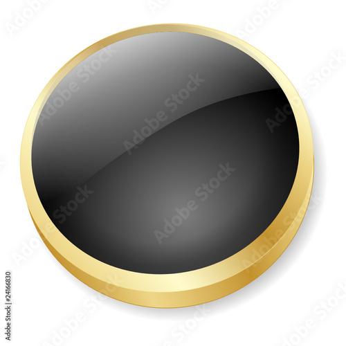 BLANK Web Button (template go internet icon gold medal ok go