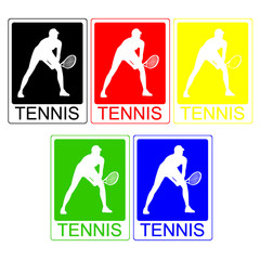 Tennis (with clipping paths)