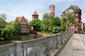 Fotomurales - Altstadt von Lüneburg
