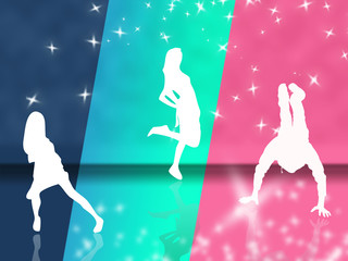 Fototapeta dance obraz