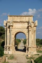Wall Mural - Arc romain Libye