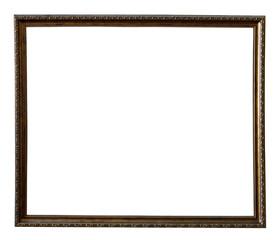 Old dark picture frame