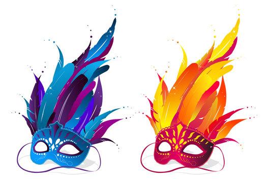 Mardi Gras Party Masks