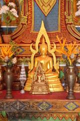 buddha image, Wat Nonrasi, Borabue, Mahasarakam