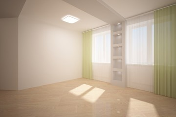 bright empty room