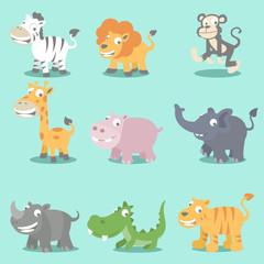 Wild animals seeries