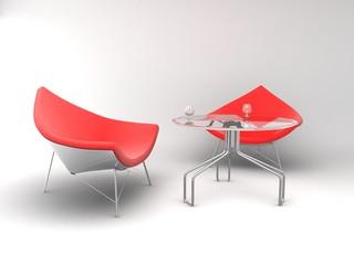 Poltrone e tavolino
