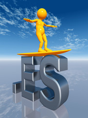 3D Internet Top Level Domain of Spain