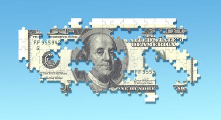 100 dollar puzzle