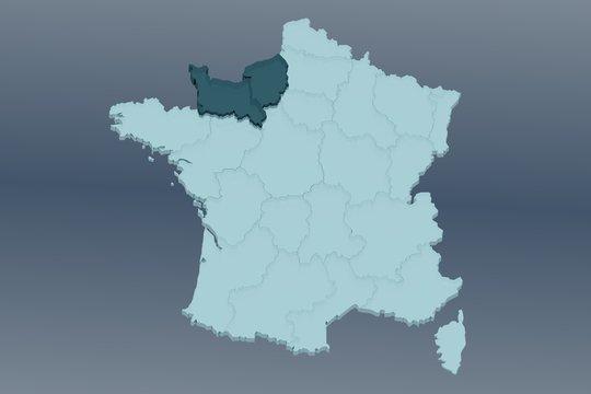 normandie sur france 3d