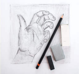 Hand drawing and tools
