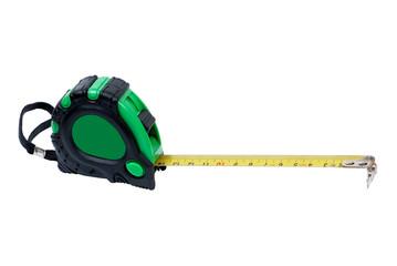 Green tape measure