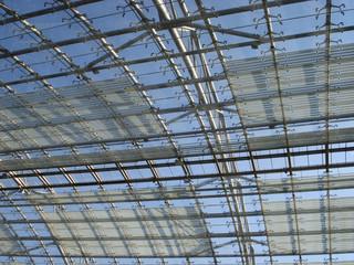 Glas/Stahl-Konstruktion