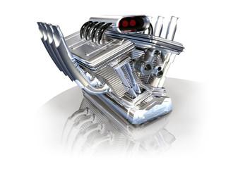 Moteur 3D machine course