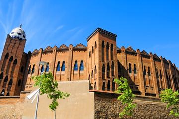 Plaza de toros Monumental de Barcelona, España