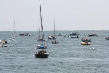 bateaux au mouilage