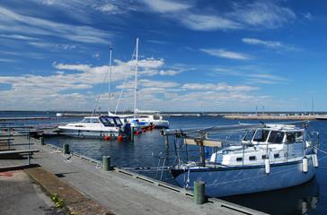 Oland island harbour