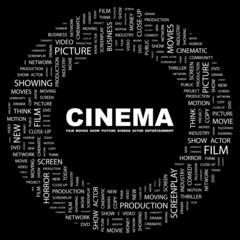 CINEMA. Circular frame with association terms.