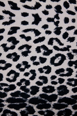 Leopard fabric texture background.