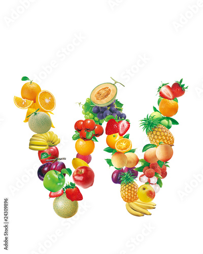 """fruit Letter"" Stock Photo And Royalty-free Images On"