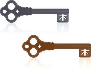 Antique Door Keys