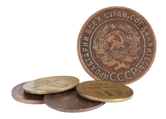 Antique Russian coin