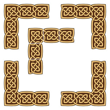 Celtic knotwork border