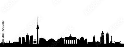 berlin skyline stockfotos und lizenzfreie vektoren auf bild 24351427. Black Bedroom Furniture Sets. Home Design Ideas